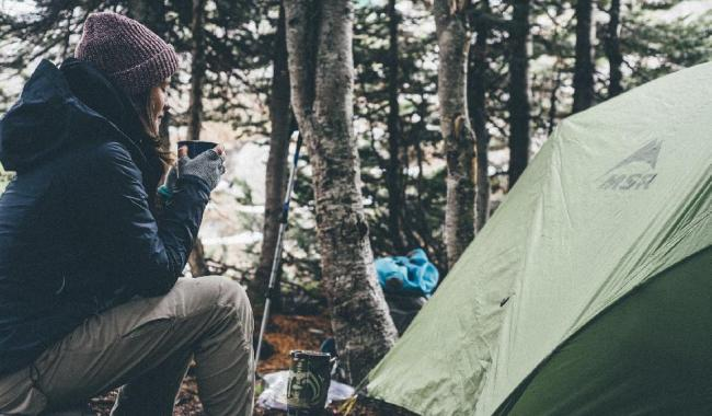 Camping Relieve Yourself